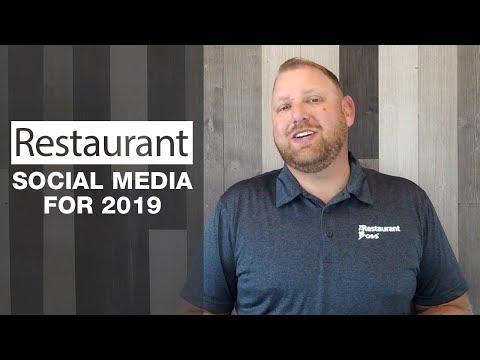Restaurant Social Media for 2019
