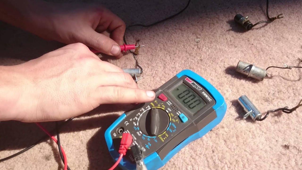 Pushmowerrepair Com Testing A Condenser Capacitor