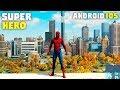 Top 12 Jogos de SUPER HERÓIS para Android & iOS 2018!