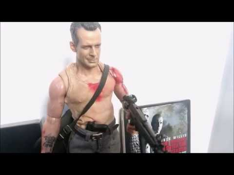 1//6 Scale Action Figure Stand Die Hard John McClane
