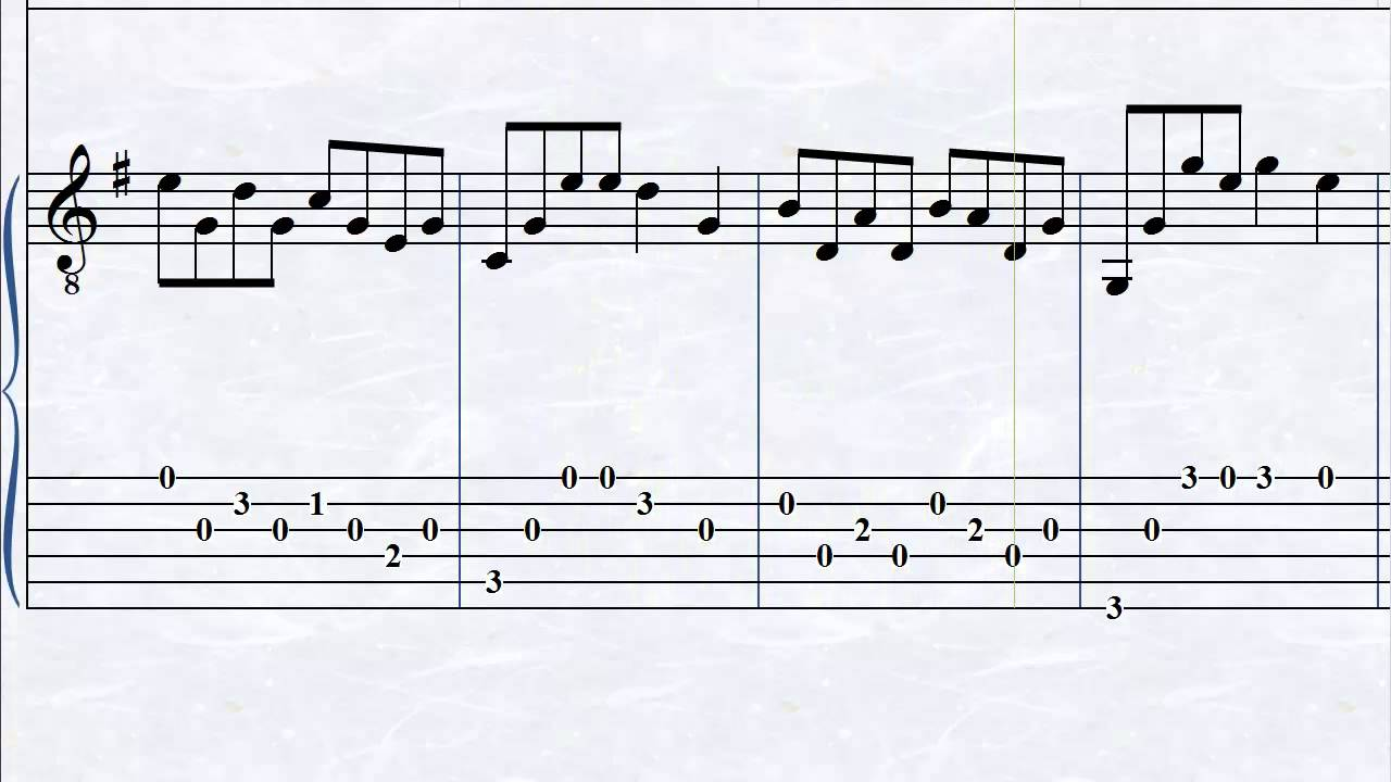 graphic about Printable Guitar Tab titled Simple In the direction of Comply with Totally free Guitar Tabs For Inexperienced persons In the direction of Innovative