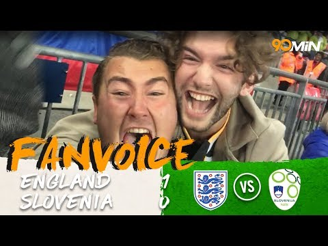 Harry Kane goal sends England to the World Cup! | England 1-0 Slovenia | 90min FanVoice