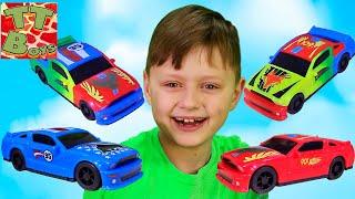 Машинки Разбивалки Fast Crash! Испытание На Прочность Видео Для Детей
