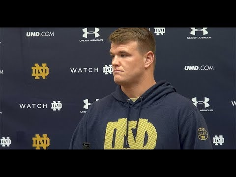 Mike McGlinchey on the future of Notre Dame football