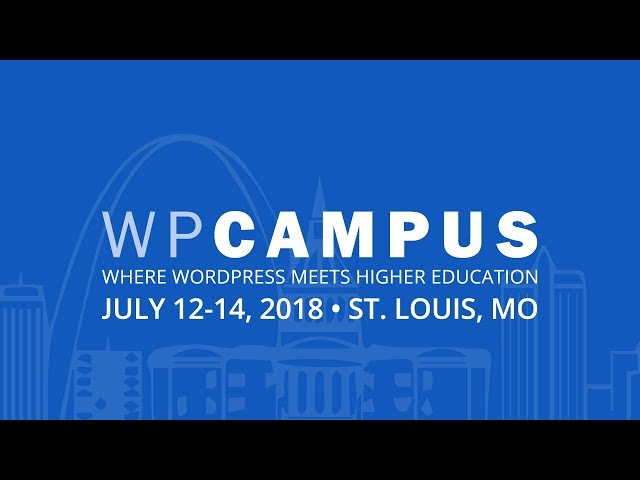 Accessibility and life beyond the ALT tag - WPCampus 2018 - WordPress In Higher Education