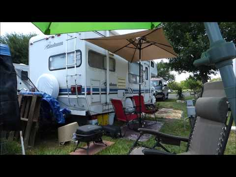 Fulltime RVing   A few beginning mistakes and life at an RV park