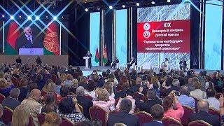 Лукашенко: ответственность за публичное слово и у политика, и у журналиста возрастает на порядок