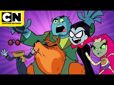 Teen Titans GO! | Scary Rap | Cartoon Network