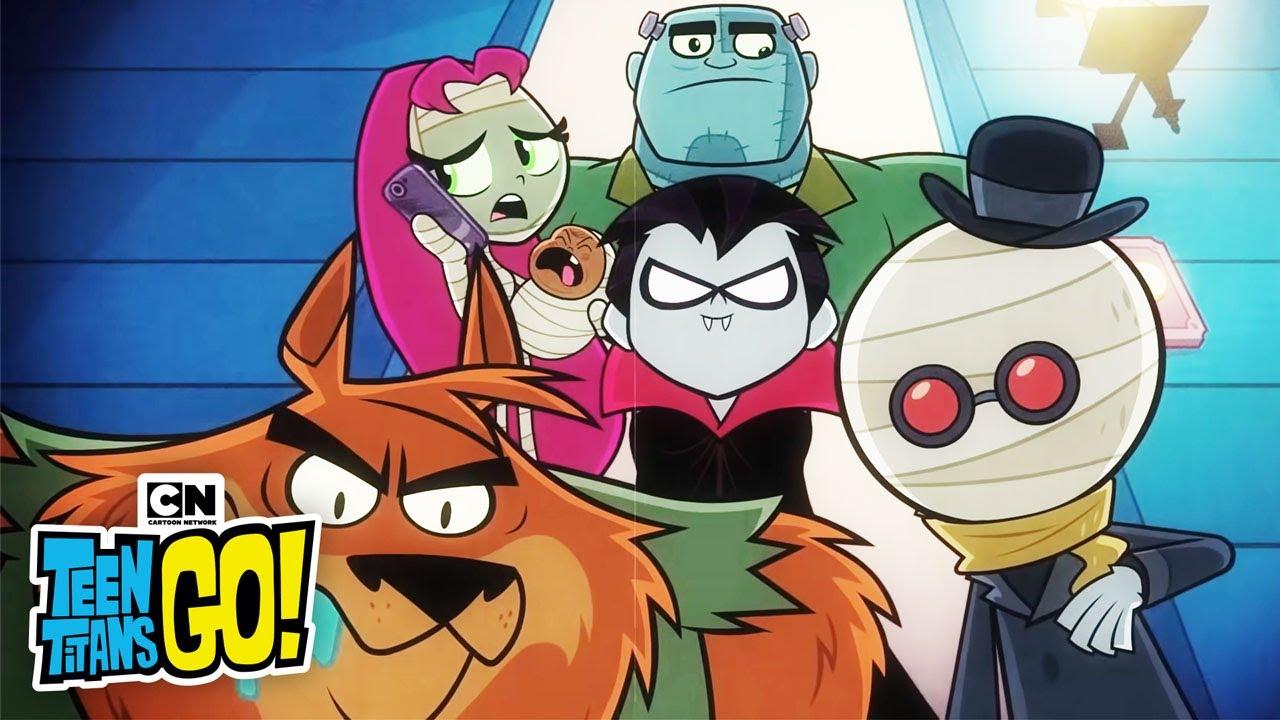 Scary Rap Teen Titans Go Cartoon Network Youtube