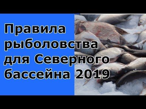 Правила рыболовства для Северного бассейна 2019. Закон о рыбалке. Карелия, Коми и т.д..