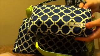 What's in My (cloth)  Diaper Bag: Ju Ju Be Super be