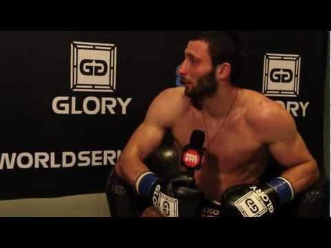 GLORY SWEDEN - DAVIT KIRIA - postfight interview