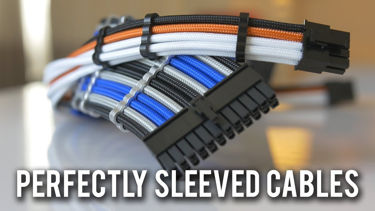 Cablemod Pro Cables Show Floor Quality Youtube