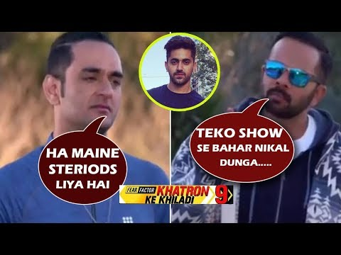 Khatron Ke Khiladi: Rohit Shetty SLAMS  Vikas Gupta For Taking Steroids
