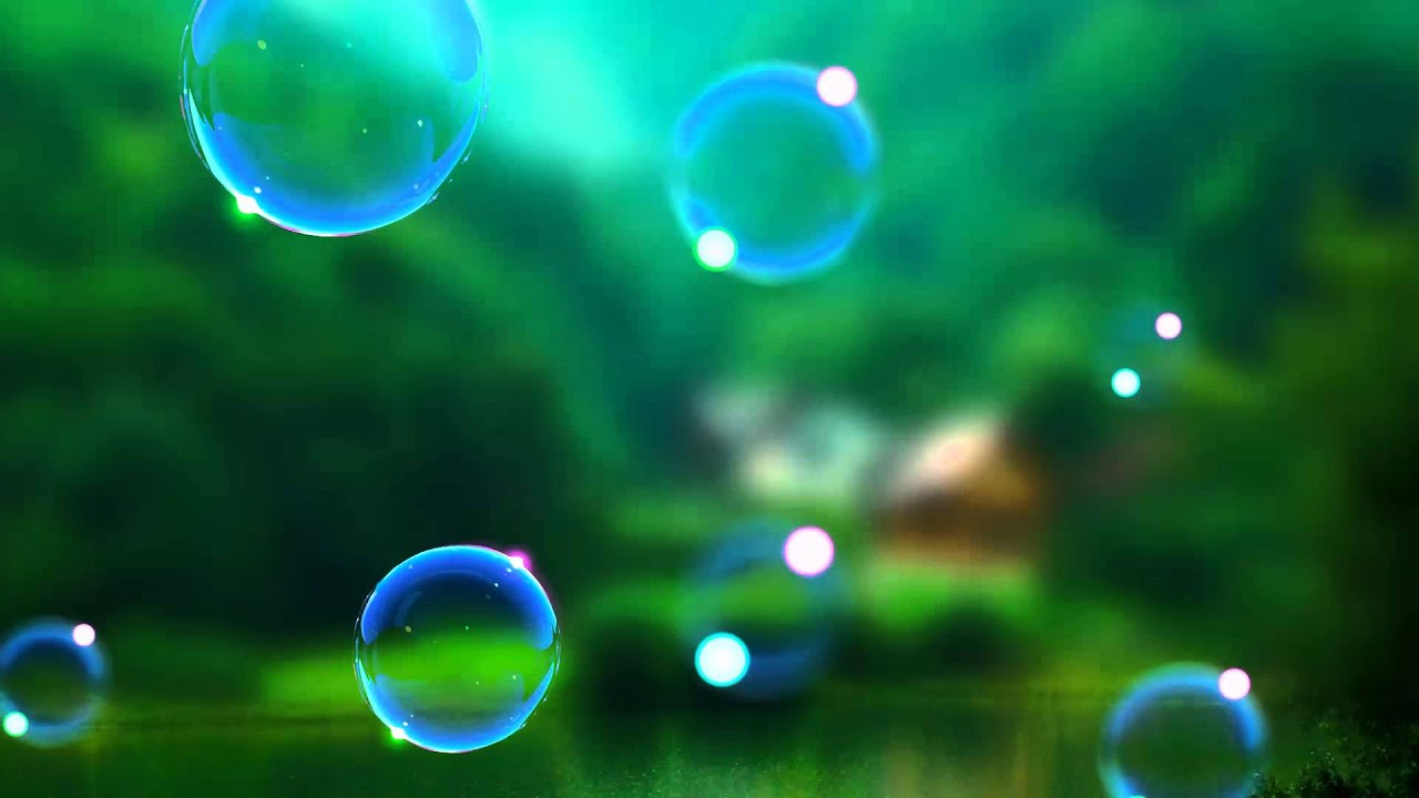 Video Background HD-Bubble Animation Video! As Realistic! - YouTube