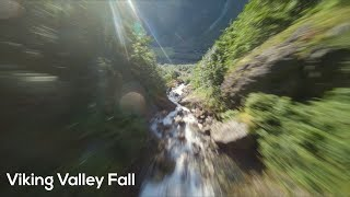 Amazing Drone Video of Viking Valley Fall