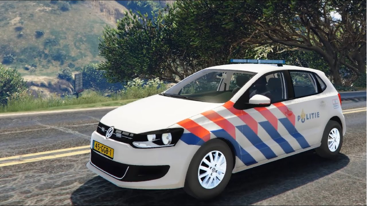 gta v volkswagen polo danish police car enromovies youtube. Black Bedroom Furniture Sets. Home Design Ideas