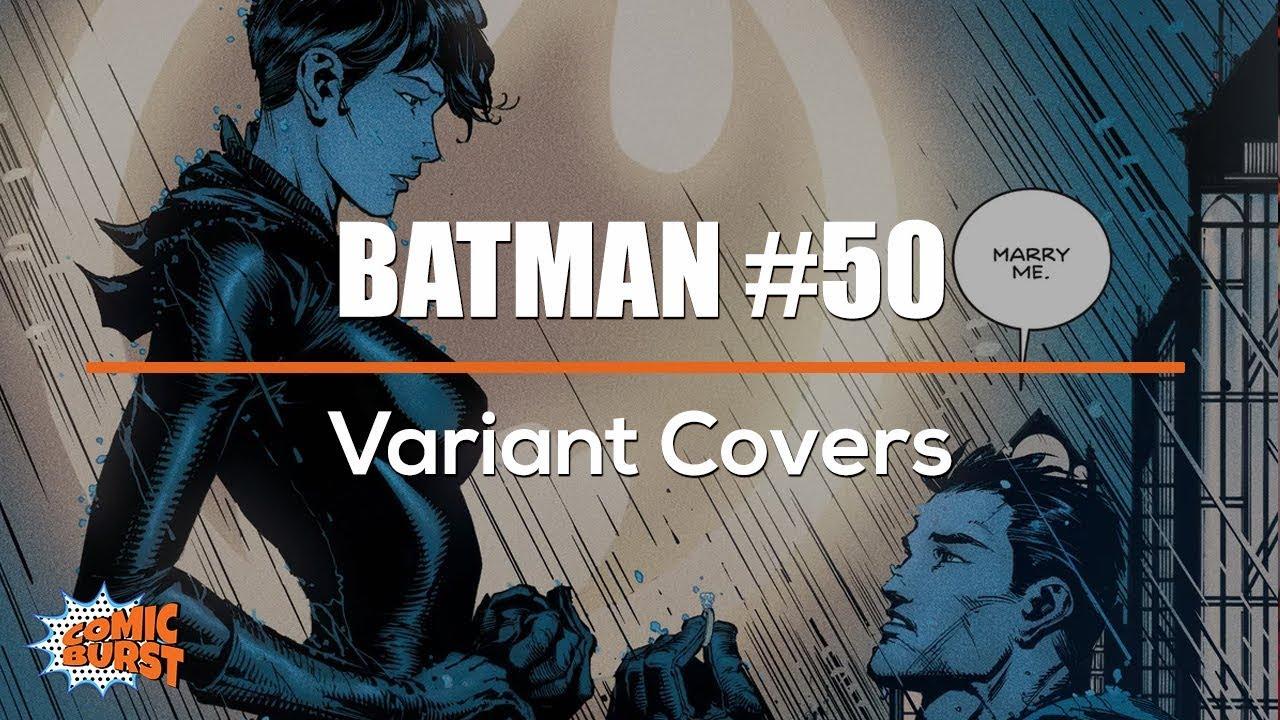 DC COMICS WEDDING JAE LEE DYNAMIC FORCES VARIANT COVER BATMAN ISSUE 50