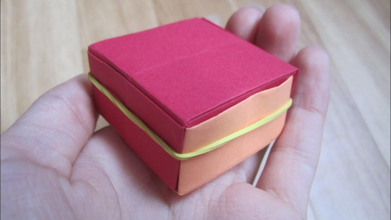 tuto origami bo tes surprise facile youtube. Black Bedroom Furniture Sets. Home Design Ideas