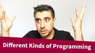 Different kinds of Programming languages explained