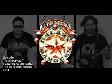 EPISODE   Galaxy Rangers   Psychocrystal Theme guitar cover rock metal