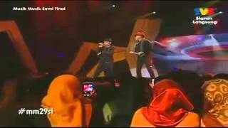Waris & Dato' Hattan - Gadis Jolobu (Muzik Muzik 29 Separuh Akhir Kedua)