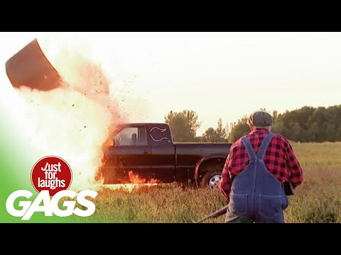Truck Explodes!!