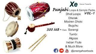 Punjabi Loops and Sample Packs VOL-1 By Xexus | FL Studio Tutorials