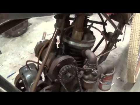Quincy Air compressor Made Into An Engine