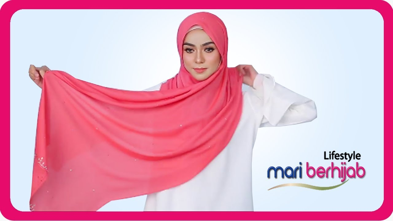 12 Tutorial Terbaru 2020 Cara Memakai Hijab Model Segi Empat Pashmina Trend Tahun 2020 Youtube