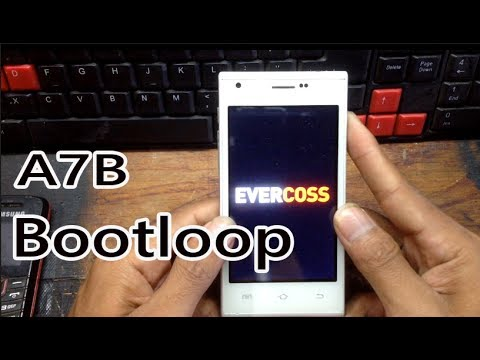 Cara Flash Atau Instal Ulang Evercoss A7b Yang Bootloop Berat Youtube
