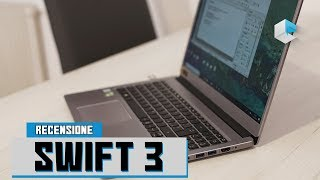 Recensione Acer Swift 3 (SF315)