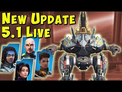 New 51 Update : Pilots Anti-Control etc War Robots Gameplay WR