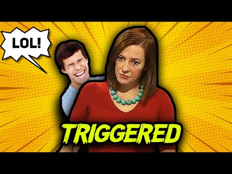 LOL: Jen Psaki Gets Triggered By Conservative Twitter MEME