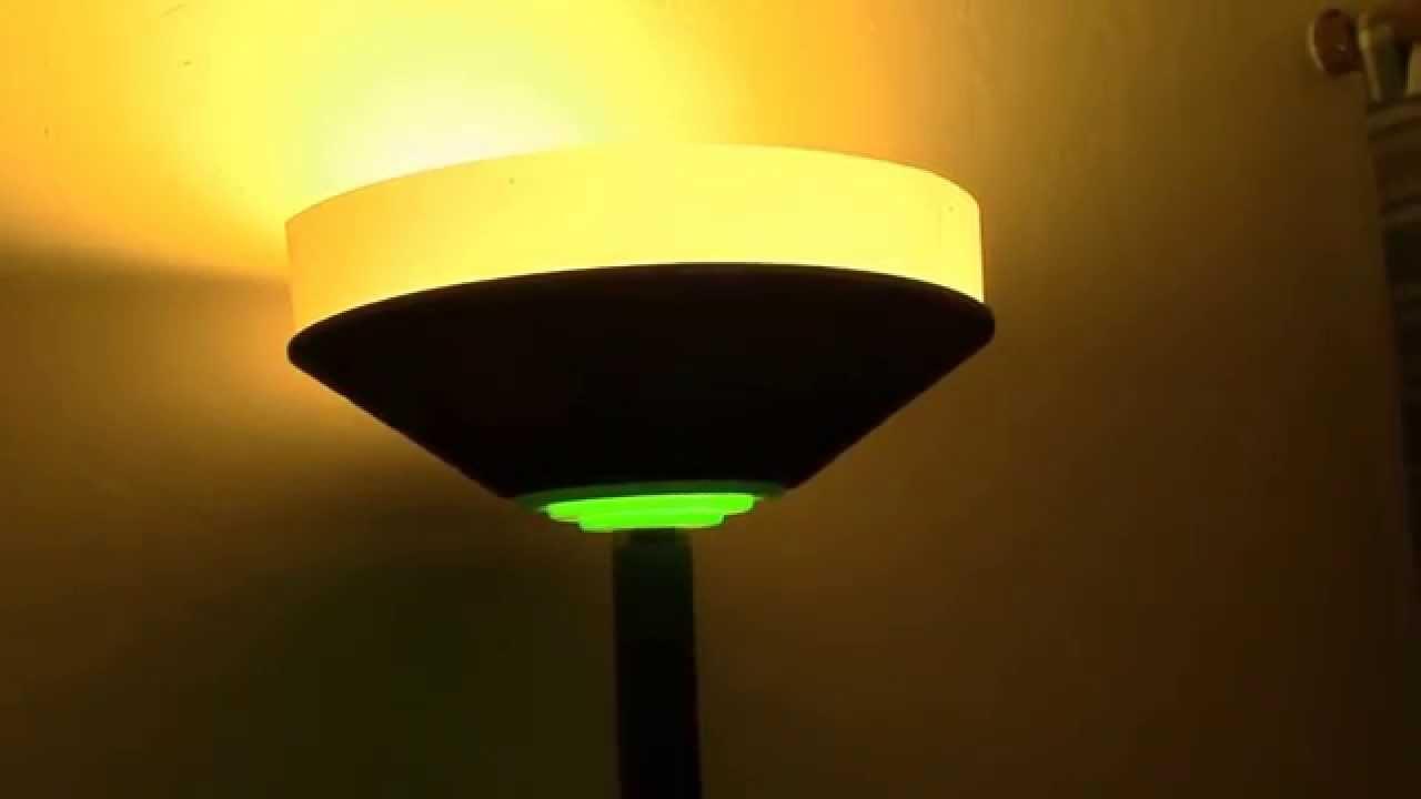 Halogen Torchiere Lamp Conversion Part 3 Youtube