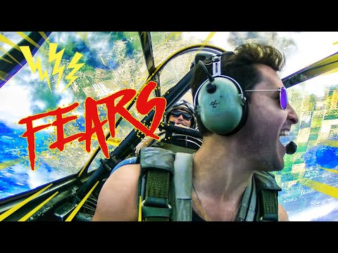Facing My BIGGEST Fears | SCORPIONS, SPIDERS, PLANES + More | Doctor Mike