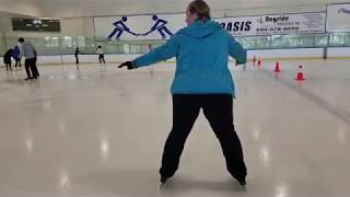 Ice Skating Progress Report - One