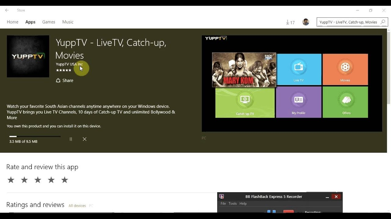 yupptv software free download for windows 10