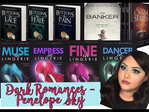 DARK ROMANCES - 4 DIFFERENT BOOK SERIES ALL BY PENELOPE SKY