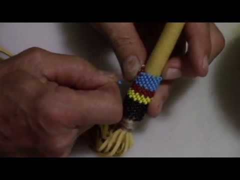 How To Bead--- Native American Peyote Stitch