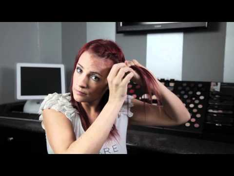 How To Do Your Own Updo - Rope Braid