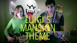 Luigi S Mansion Main Theme Acoustic Cover
