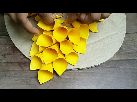 Diy. Home decor ideas. Wall and door decoration.Paper craft ideas.