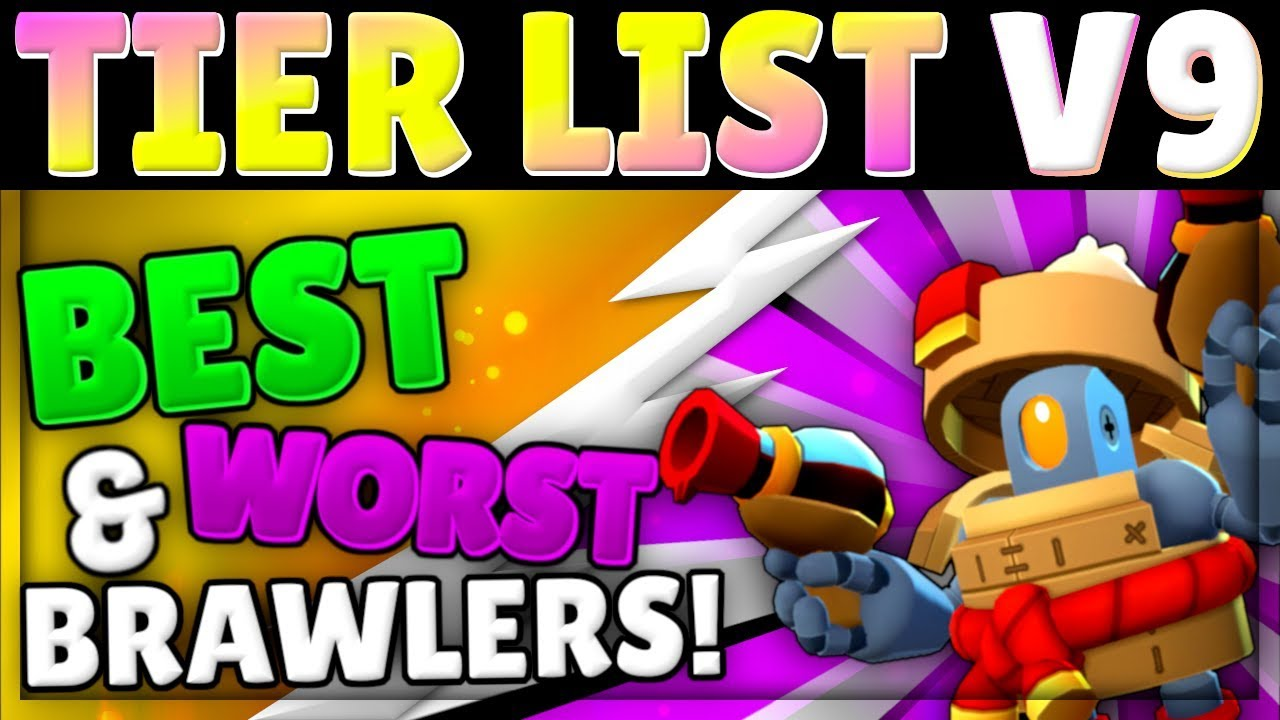 Brawl Stars Tier List V9   Best Brawlers, Every Mode!   Assassin Meta!