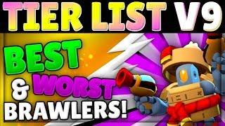 Brawl Stars Tier List V9 | Best Brawlers, Every Mode! | Assassin Meta!
