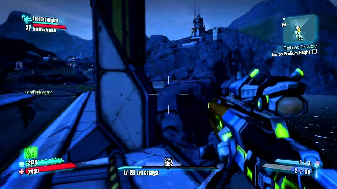Borderlands 2 The Highlands The Holy Spirits Challenges Youtube