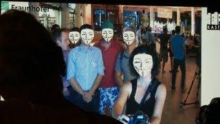Anti-Prism-Party im ZKM