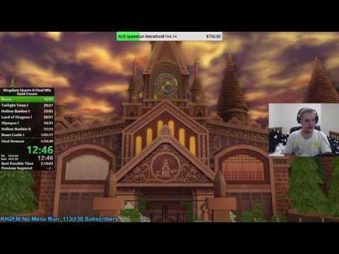 [PS4] Kingdom Hearts II Final Mix HD Critical Gold Crown Speedrun 5:19:30
