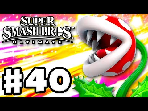 PIRANHA PLANT - Super Smash Bros Ultimate - Gameplay Walkthrough Part 40 Nintendo Switch
