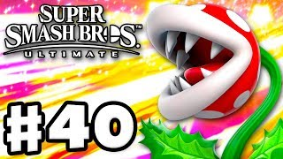 PIRANHA PLANT! - Super Smash Bros Ultimate - Gameplay Walkthrough Part 40 (Nintendo Switch)